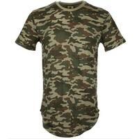 Camo Design Slim T Shirt