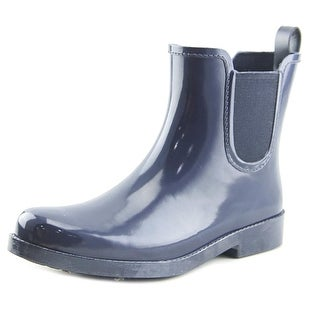 Coach Womens Tyler Rubber Closed Toe Ankle Rainboots