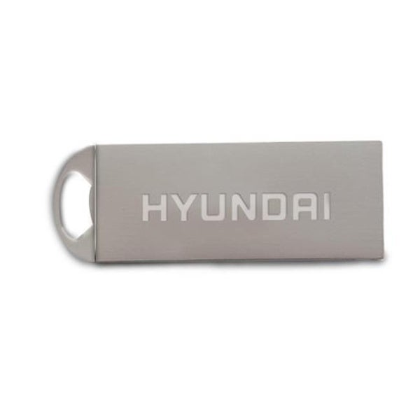 Hyundai U2BK-16GD 16GB USB 2.0 Metal Flash Drive with Keychain