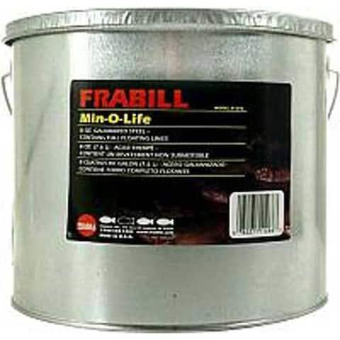 Frabill Galvanized Floating Bucket 2pc 8qt