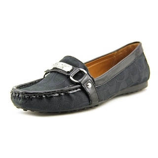 Coach Felisha Moc Toe Canvas Loafer