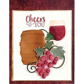 Wine Charms - Spellbinders Shapeabilities Dies