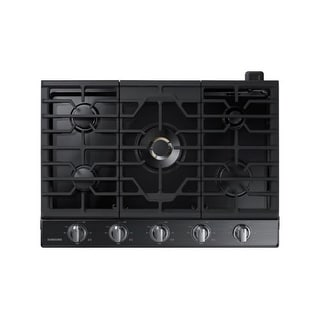 Samsung NA30K7750 30 Inch Wide Built-In Gas Cooktop with 22,000 BTU True Dual Power Burner