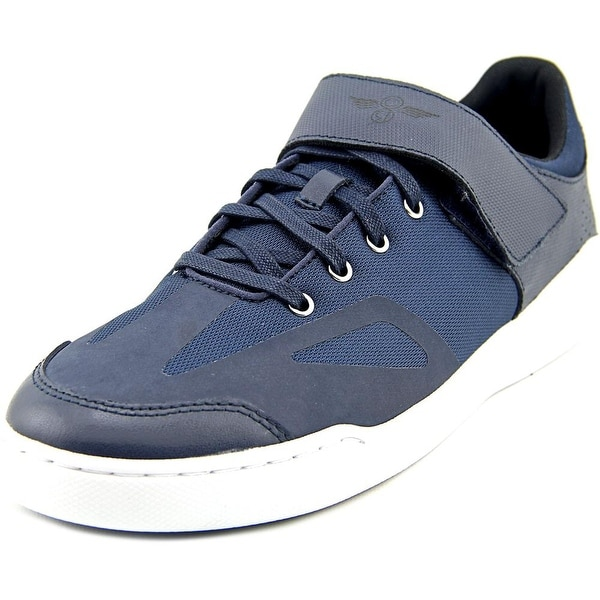 Creative Recreation Bilotti Men Round Toe Leather Blue Sneakers