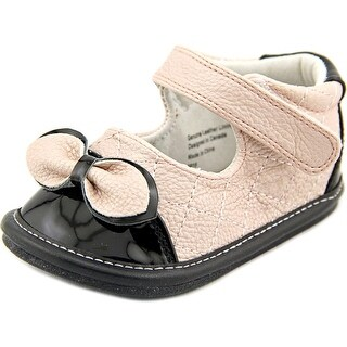 Jack and Lily My Shoes Toddler Round Toe Leather Pink Mary Janes