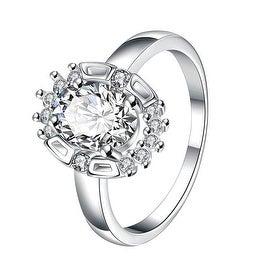 Crystal Gem Circular Jewels Ring