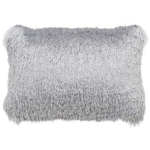 SAFAVIEH Retro Chic Indoor/ Outdoor Shag Decorative Pillow