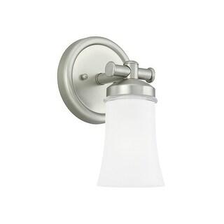Sea Gull Lighting 44482BLE-965 1-Light Newport Bath Sconce Antiq Brushed Nickel - Nickel Finish