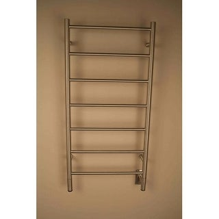 "Amba FS-20 Jeeves 20""W Hardwired Straight Stainless Steel Towel Warmer - 110V (Option: White Finish)"