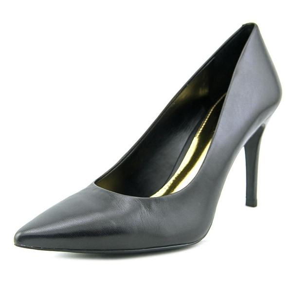 Lauren Ralph Lauren Alani Pointed Toe Leather Heels