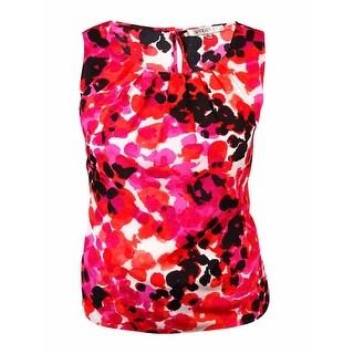 Kasper Women's Printed Polyester Blouse