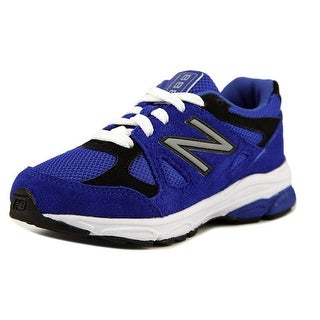 New Balance KJ888 Youth W Round Toe Synthetic Blue Sneakers