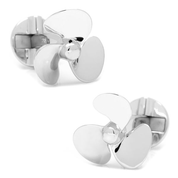 Sterling Propeller Cufflinks