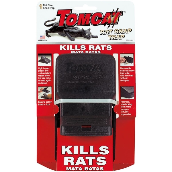 Tomcat Rat Snap Trap
