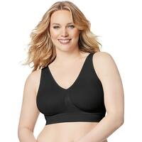 Just My Size Pure Comfort® Seamless Wirefree Bra with Moisture Control