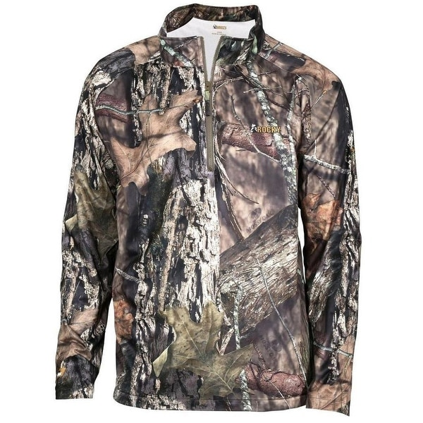 a1a20272ac890 Shop Rocky Outdoor Shirts Mens L/S SilentHunter WP Wind Mossy Oak - Free  Shipping Today - Overstock - 16076597