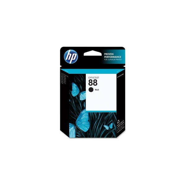 HP 88 Black Original Ink Cartridge (C9385AN) (Single Pack)