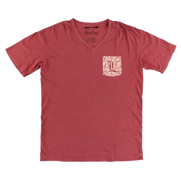 62f8846e6 Shop Press Box Womens Louisville Cardinals College Lace Logo V Neck T Shirt  Red - Free Shipping On Orders Over  45 - Overstock - 22615785