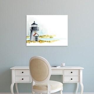 Easy Art Prints Regina Moore's 'Ocean Beacon I' Premium Canvas Art