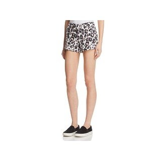 Joie Womens Merci Shorts Linen Animal Print - 2