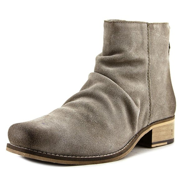 Seychelles Fondness Women Square Toe Suede Ankle Boot
