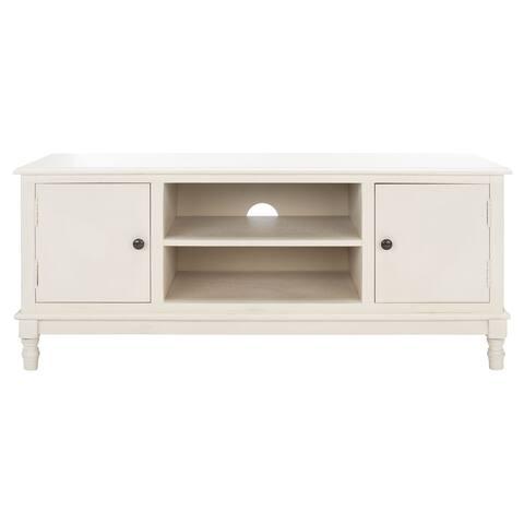 "SAFAVIEH Ozark 2-Door 1-Shelf TV Media Stand - 47.3"" W x 15.8"" L x 20"" H"
