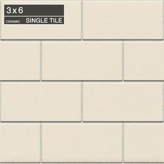 """Daltile 0136MODP Rittenhouse Square - 6"""" x 3"""" Rectangle Multi-Surface Tile - Semi-Gloss Tile Visual - N/A"""