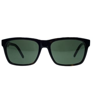 Lacoste L703/S 214 Dark Havana Rectangular Sunglasses