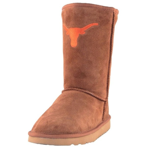 Gameday Boots Womens U Of Texas Longhorns Roadie Hickory UT-RL1017-1
