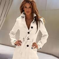 Latest Fashion Cashmere Slim Coat For Women