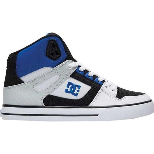 Pure High-Top Sneaker Black/White/Blue