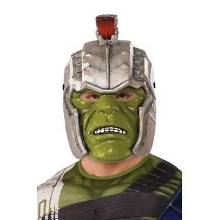 Rubies Ragnarok War Hulk Helmet (Adult) - Silver
