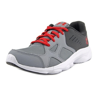 Under Armour BGS Pace RN Round Toe Synthetic Sneakers