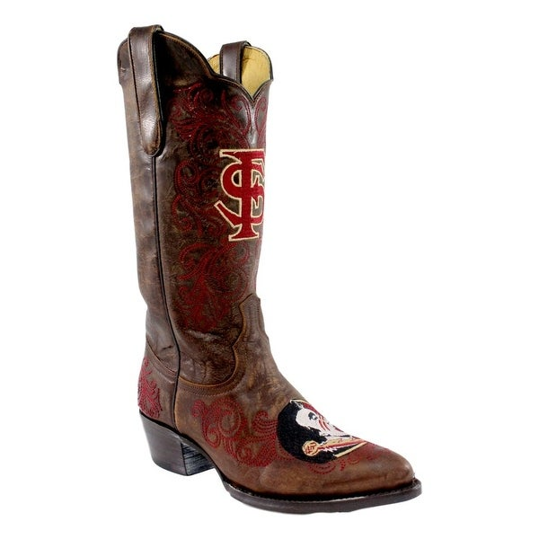 Gameday Boots Womens Florida State Round Toe Pull On