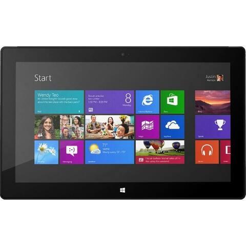 "Microsoft Surface Pro 2 10.6"" Tablet 128GB WiFi Intel Core i5-4200U X21.7GHz,Black(Refurbished) - Black"