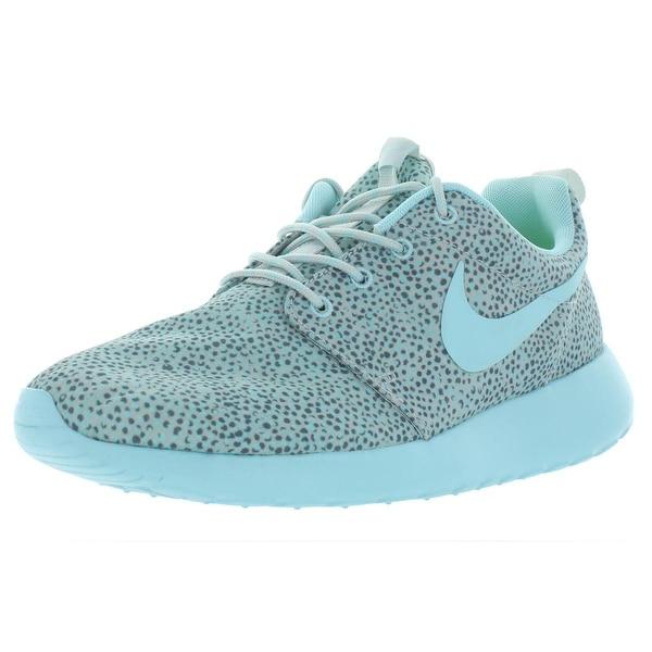 Shop Nike Womens Roshe One Print Running Shoes Mesh Printed