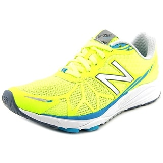 New Balance Pace Women D Round Toe Synthetic Yellow Running Shoe