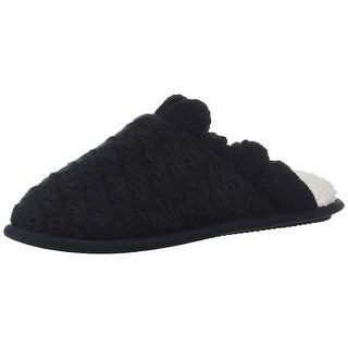 Link to Nine West Womens Com 50880 Closed Toe Slip On Slippers Similar Items in Slippers, Socks & Hosiery
