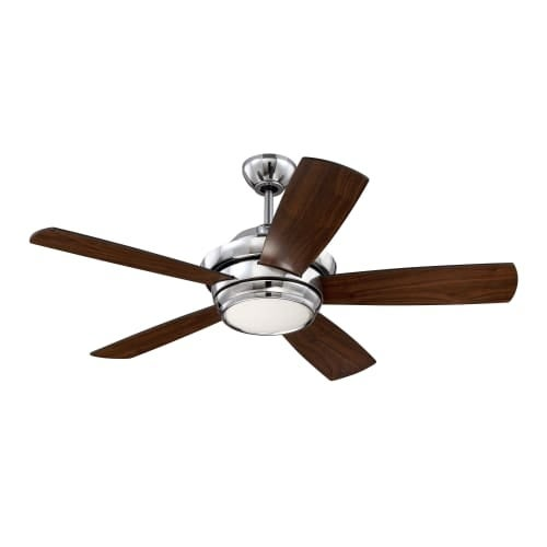 "Craftmade TMP445 Tempo 44"" 5 Blade Ceiling Fan - Blades, Remote and LED Light Kit Included"