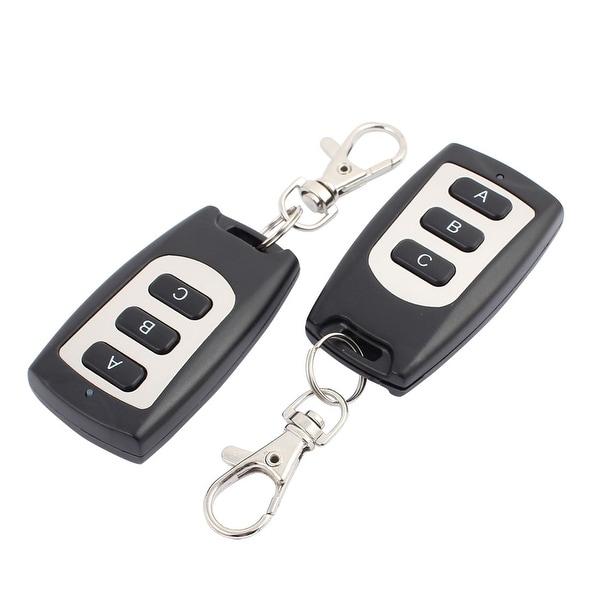 2pcs 30 Meters 3 Keys Waterproof Digital Remote Controller for Security Alarm