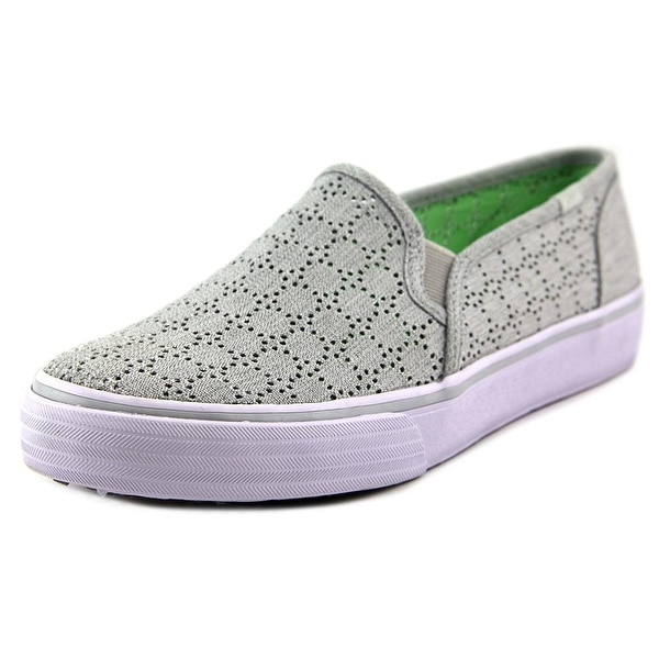 Keds Double Decker Perf Women Round Toe Synthetic Sneakers