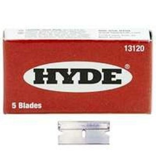 Hyde 13120 Single Edge Razor Blade, Box of 5