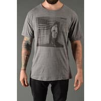 Roots of Fight Ali Flag Average Fit T-Shirt - Triblend Gray