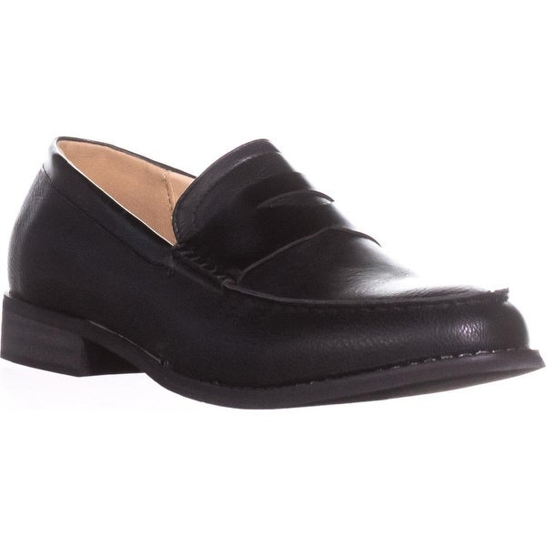 Wanted Crew Flat Loafers, Black - 8.5 us / 39 eu