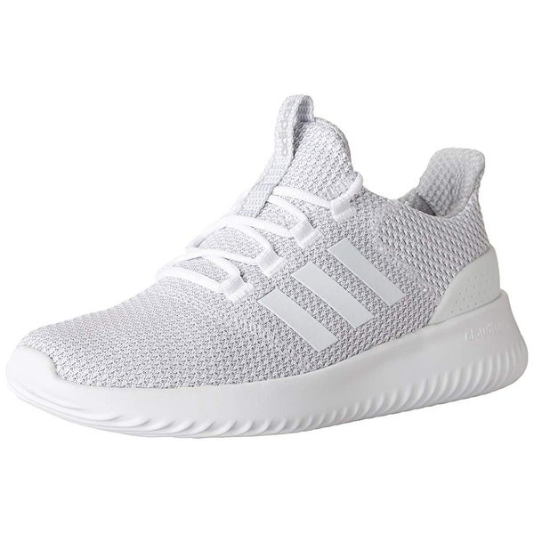 8260ef3af25 Shop Adidas Men s Cloudfoam Ultimate Running Shoe White Grey