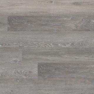 """MSI VTG7X48-2.5MM-20MIL-ASH  Wilmont 7-3/8"""" Wide Waterproof Smooth Ash-Imitating Glue down Luxury Vinyl Planks - Elmwood Ash"""