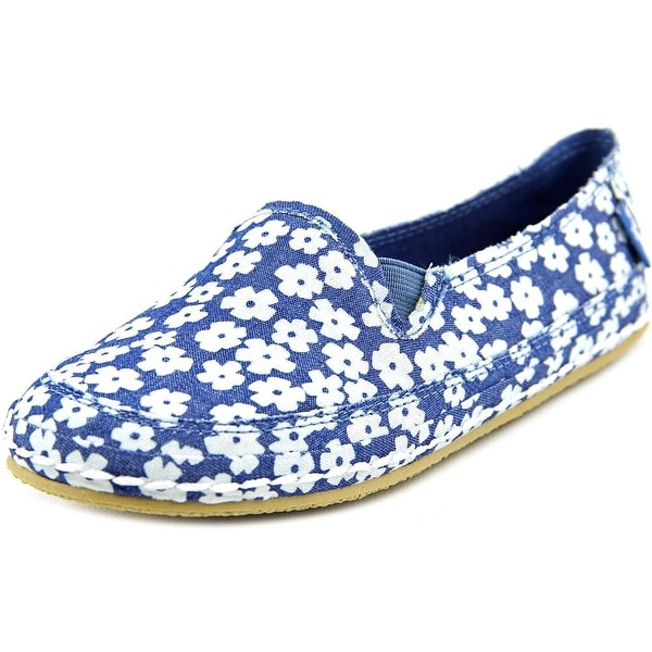 Rocket Dog Wheelie Youth Round Toe Canvas Blue Loafer