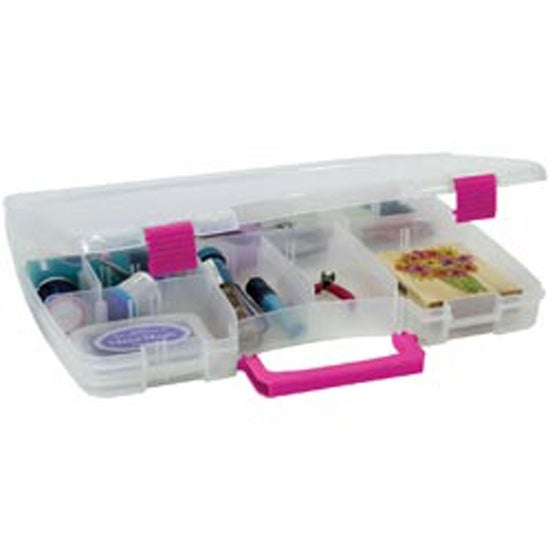 1475X2X11 Clear Magenta Creative Options Latch Connectable
