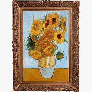 Vincent Van Gogh 'Sunflowers' Hand Painted Oil Reproduction