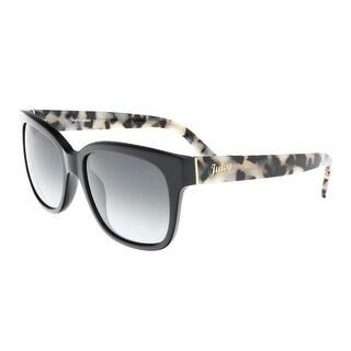 Juicy Couture - Juicy 570/S 807 Black Square Sunglasses - 54-17-135